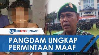 Pelajar SMA Dikeroyok 3 Anggota TNI karena Rebutan Pacar, Pangdam Ungkap Permohonan Maaf