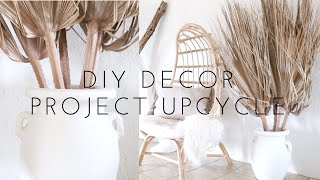 DIY Decor With Palm Leaves | Project Upcycle