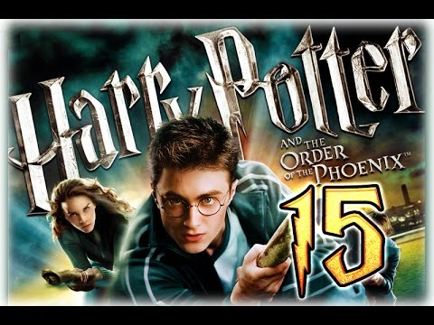 Harry Potter and the Order of the Phoenix Walkthrough Part 15 (PS3, X360, Wii, PS2, PC) Ending