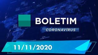 Boletim Epidemiológico Coronavírus 11/11/2020