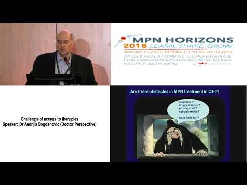 4 Challenge of access to therapies Dr Andrija Bogdanović