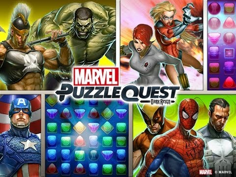 Marvel Puzzle Quest βίντεο