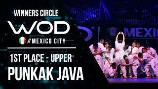Punkak Java | 1st Place Upper Division | World of Dance Mexico City Qualifier | #WODMX17