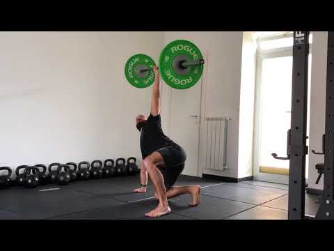 Barbell Turkish Get-Up