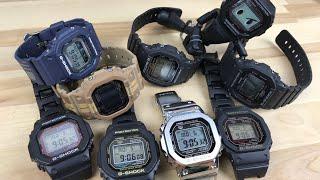 G-Shock squares $40 to $1000