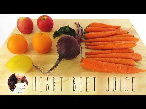 Video JUICE FOR YOUR HAIR | Heart Beet Juice Recipe | Yolanda Renee