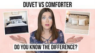Duvet vs Comforter - What's The Difference?
