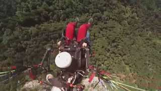 Emeline a testé le Parapente au dessus du Lac d'Annecy