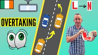 How to Overtake and Change Lanes properly - driving lesson