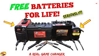 How To MAKE A Vehicle BATTERY LAST FOREVER! 12v 6v Deep Cycle, Car, Truck, Golf Cart, Semi