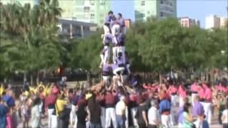 preview picture of video '2012-06-02 CORNELLÀ-18a Trobada de Colles Castelleres del Baix Llobregat.wmv'