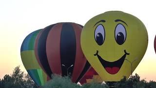 Фестиваль воздушных шаров, Пятигорск 2017. Открытие. Начало. Надувание шаров.