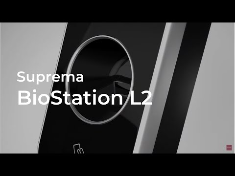 Suprema L2 BioStation Biometric Attendance Fingerprint Access Control Systems