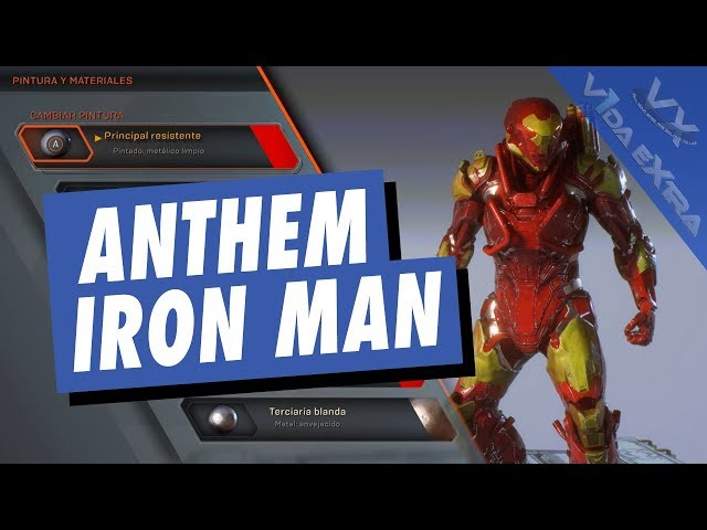 Anthem - Tutorial para que tu alabarda luzca como Iron Man