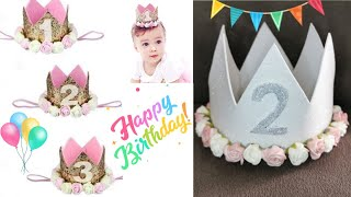 Birthday Party Crown | Princess Crown 👑