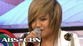Kris TV: Charice performs rendition of 'Pusong Bato'