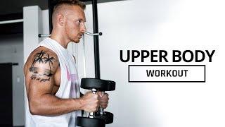Kurzhantel Workout für den OBERKÖRPER | Trainingsplan für den Muskelaufbau Zuhause mit nur 2 Hanteln