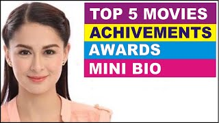 Award Winning Filipino Actress ♥ Marian Rivera ♥ Mini-Bio ♥ Film Awards ♥ Top Rated Movies