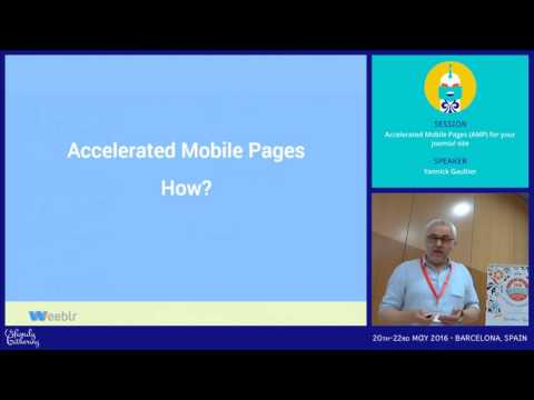 JAB16 - Accelerated Mobile Pages (AMP) for your Joomla! site