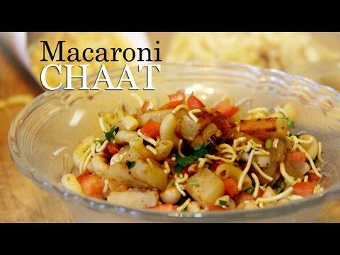 Macaroni Chaat Recipe | Indian Style Macaroni Pasta Recipe | Veg appetizer Recipes Indian By Shilpi