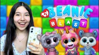 Playing Ty Beanie Blast! (Beanie Boo mobile game)