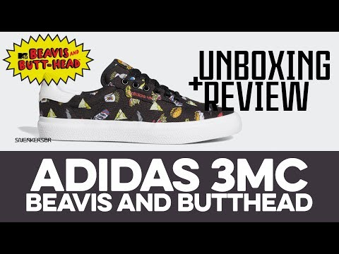 UNBOXING+REVIEW - adidas 3MC 'Beavis And Butthead'