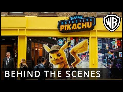 POKÉMON Detective Pikachu – Pop-Up Behind the Scenes - Warner Bros. UK