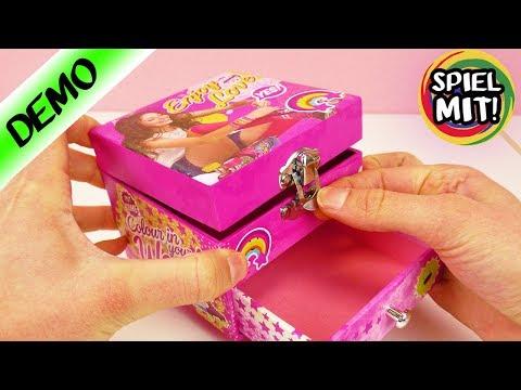 Schmuckkästchen von Soy Luna | Coole Aufbewahrungsbox für Schmuck & Schminke | Spiel mit mir