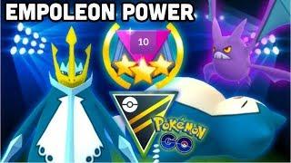 Crobat  - (Pokémon) - Empoleon lead in Ultra GO Battle League Rank 10 Pokemon GO | Crobat & Snorlax combo