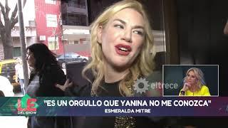 Tras la fuerte pelea que tuvo con Yanina Latorre, Esmeralda Mitre se fue furiosa