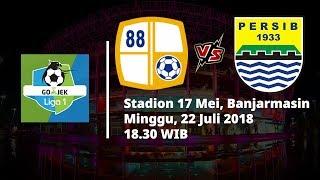 Live Streaming Liga 1 Indonesia Barito Putera Vs Persib Bandung Pukul 18.30 WIB