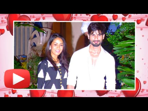 Shahid Kapoor Back Home with Wife Mira Rajput