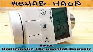 Homematic Funk-Heizkörperthermostat Bausatz HM-CC-RT-DN | Rehab Haus