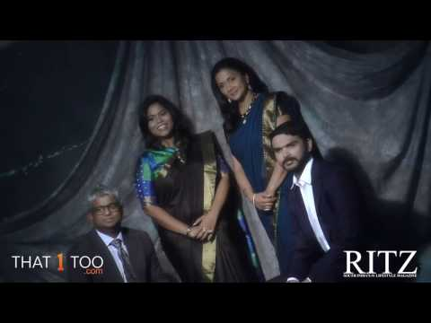 Srinivasan Gopalan, Anand, Regeena Jeppiaar and Krithika Subramanian shoot together for the RITZ