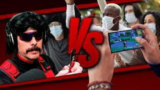 DrDisrespect versus the ENTIRE MOBILE GAMING COMMUNITY