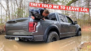 TAKING MY 700HP RAPTOR TO A JEEP ROCK CRAWLING EVENT... *NOT GOOD*