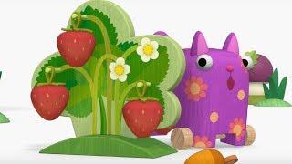 Деревяшки - Эхо + Одуванчик - развивающие мультфильмы для самых маленьких  0-4