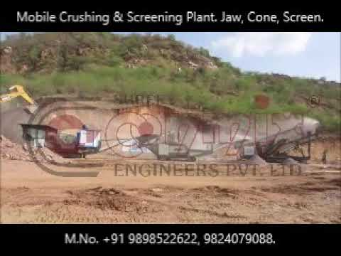 200 TPH Portable Crushing Plant