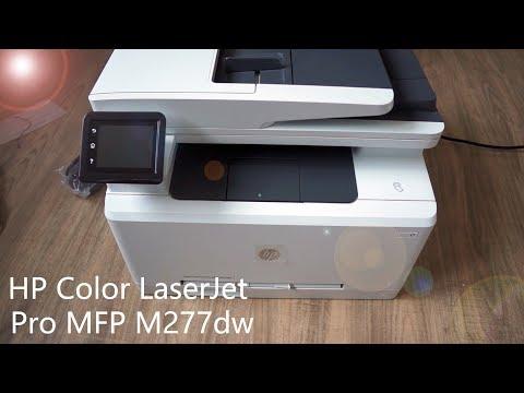 Review: HP Color LaserJet Pro MFP M277dw - Multifunktionsdrucker mit Netzwerkscan inkl. Tutorial