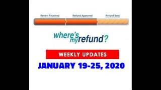 Where's My Refund? Jan. 2020 Update