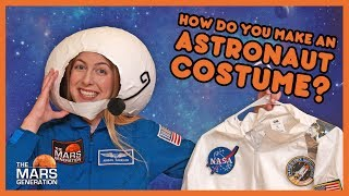 HALLOWEEN SPECIAL: How To Make an Astronaut Costume? | #AskAbby | Season 2 | The Mars Generation