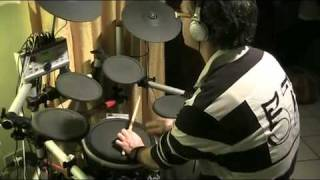 BRAND X - Don't make waves - Punta Ala Live Rock - Drum Cover