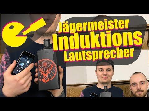 Jägermeister Induktions-Lautsprecher und mehr UNBOXING und Test