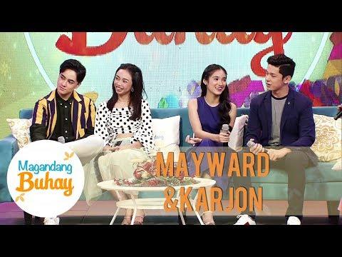 MayWard and KarJon share their Simbang Gabi experiences | Magandang Buhay