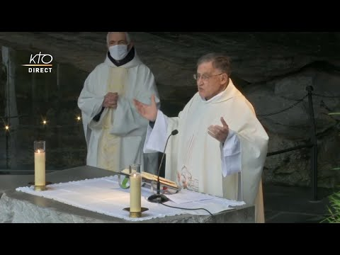 Messe de 10h à Lourdes du 6 février 2021