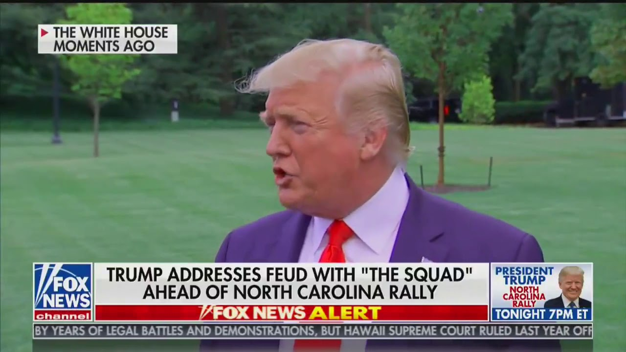 President Trump On Ilhan Omar: I Hear She Was Married To Her Brother!