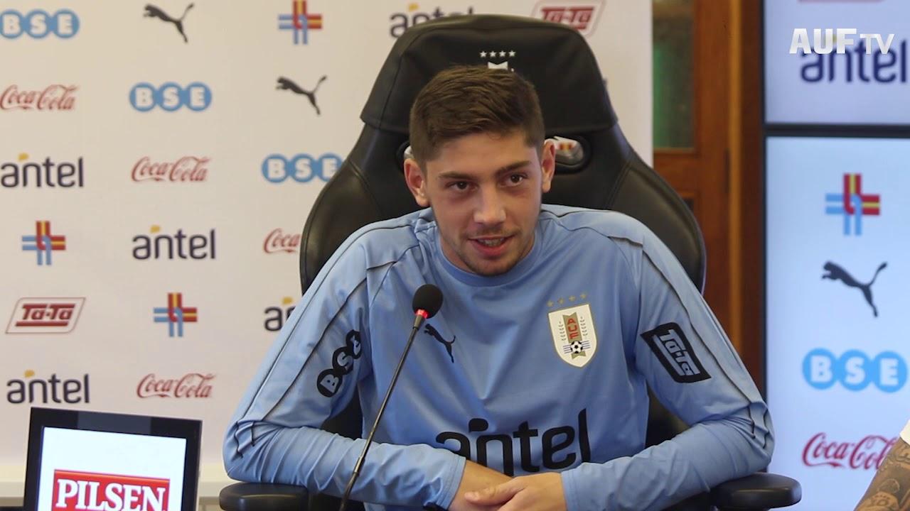 Conferencia de prensa de Valverde y Rodríguez