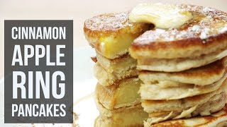 Cinnamon Apple Ring Pancakes | Healthy Breakfast And Brunch Recipe By Forkly