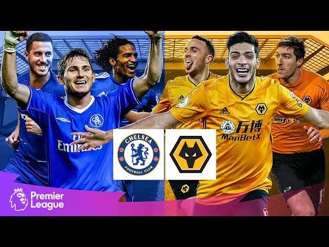 Chelsea vs Wolves | Classic Premier League Goals | Lampard, Jimenez, Hazard
