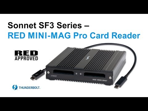 SF3 Series – RED MINI-MAG Pro Card Reader